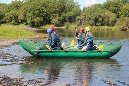 В Хабаровском крае кадеты МЧС России отправились в водно-спортивный поход