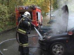 Пожарно-спасательные формирования ликвидировали загорание автомобиля в поселке Дружба Хабаровского района