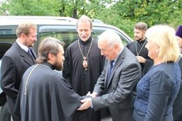 Мэр Хабаровска Александр Соколов встретился с митрополитом Московского Патриархата Иларионом