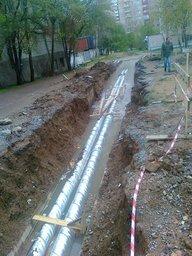В Хабаровске производят ремонт по улице Тихоокеанской 150