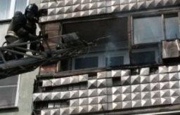 Огнеборцы Хабаровска ликвидировали загорание на балконе жилого дома в поселке Тополево