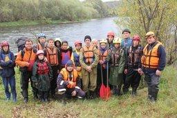 Завершился водно-туристический поход кадетов МЧС России школы села Черняево Хабаровского края