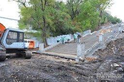 В Хабаровске завершится реконструкция лестницы к стадиону им Ленина