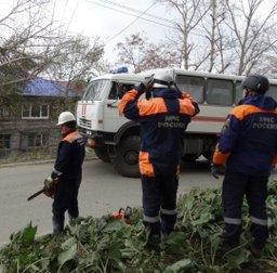 Электроснабжение восстановлено в трех населенных пунктах Сахалинской области