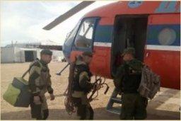 Якутские спасатели вылетели в Олекминский район для проведения поисковых работ