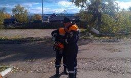 Аэромобильная группировка Главного управления МЧС России по Хабаровскому краю оказывает помощь жителям Николаевска-на-Амуре