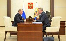 Владимир Путин обсудил с Вячеславом Шпортом социально-экономическое положение в нашем регионе