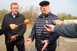 Участок дороги протяженностью 2 километра 400 метров от поселка имени Горького до индустриального парка «Авангард» будет отремонтирован