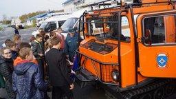 День открытых дверей прошел в Дальневосточном региональном поисково-спасательном отряде МЧС России