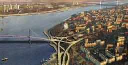 Фантазии на тему развития Хабаровска в направлении левого берега