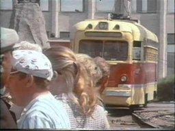 Хабаровск, запечатлённый венгерским телевидением в 1975 году