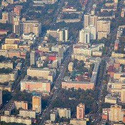 Хабаровск, изначально отличала регулярная планировка