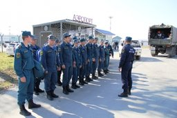 Спасатели МЧС России вылетели на Курилы для оказания помощи в прохождении приближающегося тропического циклона