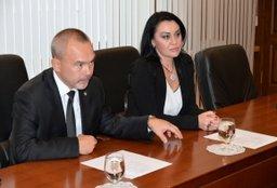 Вячеслав Шпорт встретился с руководством Федеральной антимонопольной службы России
