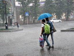 Сильные дожди вновь пройдут в Хабаровском крае