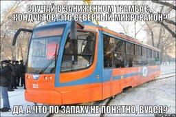 Современные низкопольные трамваи не могут ходить в Северный микрорайон Хабаровска