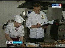 Конкурс военных поваров в Хабаровске