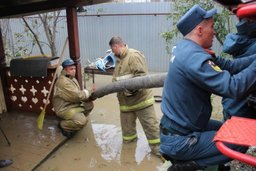 Частные дома в планировочном районе Луговое полностью освободились от воды