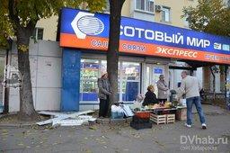 Антисанитарию устроили уличные торговцы в центре Хабаровска