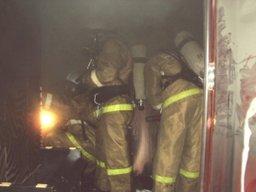 Загорание в сауне ликвидировали пожарные расчеты в Комсомольске
