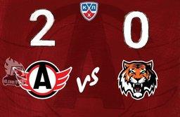 «Автомобилист» переиграл хабаровский «Амур», со счётом 2:0!