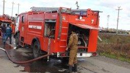 Пожарные ликвидировали загорание вагона на станции «Комсомольск-Сортировочный»
