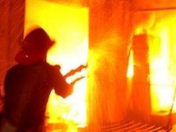 Пожарная охраны выезжала на тушение частной бани в поселке Хурба Комсомольского района