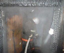 Хабаровские огнеборцы тушили частную баню