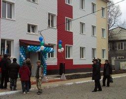 Четыре дома для переселенцев из аварийного жилья сданы ко Дню рождения края