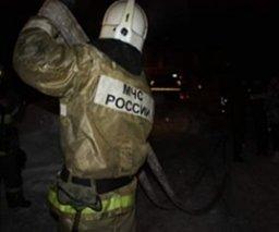 Пожарные ликвидировали загорание частной деревянной бани в Комсомольске