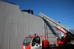 Пожар в здании по ул. Промышленной, 23 в Хабаровске ликвидирован