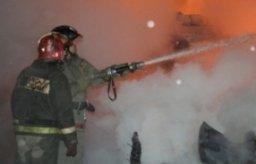 Пожарно-спасательные формирования привлекались на тушение деревянной бани на улице Новосибирской