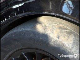 Шесть человек пострадали в страшной аварии у остановки «Мелькомбинат»