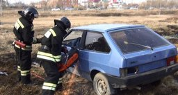 В Хабаровске успешно прошли учения по ликвидации последствий дорожно-транспортного происшествия