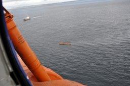 Поисково-спасательная операция в районе острова Шумшу возобновлена