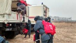 Силы и средства МЧС России ликвидируют очаги горения сухой травы в Хабаровском крае и ЕАО