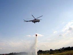 Пожарные из Хабаровского края приняли участие в тушении возгораний на территории ЕАО