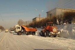 Новый снежный циклон надвигается на Хабаровск