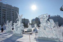 Почти 50 ледовых и снежных фигур украсят площадь Ленина в Хабаровске предстоящей зимой
