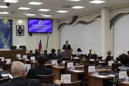 В Законодательной Думе Хабаровского края состоялся «правительственный час»