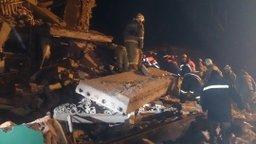 На месте взрыва в жилом доме в Хабаровском крае проводятся поисково-спасательные работы