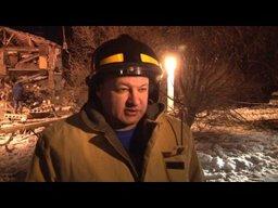 Взрыв газа уничтожил подъезд трехэтажного дома в поселке Корфовский