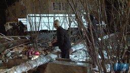 Дом в посёлке Корфовском взорвал токсикоман