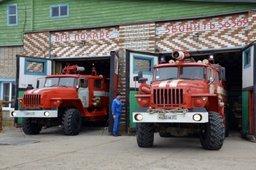 Пожарные поселка Де-Кастри приняли участие в антитеррористических учениях на нефтеотгрузочном терминале
