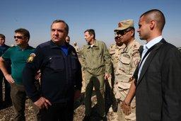 Владимир Пучков лично координирует работу российских спасателей на месте катастрофы
