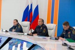 Владимир Пучков: «МЧС России ведет поисковые работы на месте крушения авиалайнера в круглосуточном режиме»