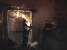 Пожарные ликвидировали загорание металлического киоска в Хабаровске