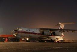 Ил-76 МЧС России доставил в Москву для лечения 26 тяжелобольных детей из Ростова-на-Дону