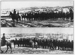 Японская армия в Хабаровске отмечает День рождения императора Ёсихито