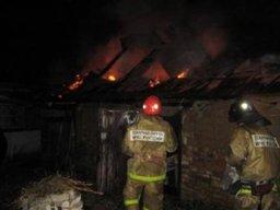 Около 45 минут потребовалось огнеборцам для ликвидации пожара в частной бане в Комсомольске